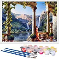 REHTRAD Paint by Numbers Kits,Colour Canvas DIY Oil Painting for Adults and Kids Beginners,Painting by Number Arts Craft…