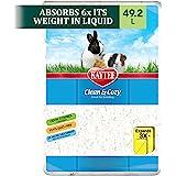 Kaytee Superpet   Clean & Cozy Animales pequeños/Roedor/Cama para hámster   Blanco   99,9% Libre de Suciedad  Control de olor