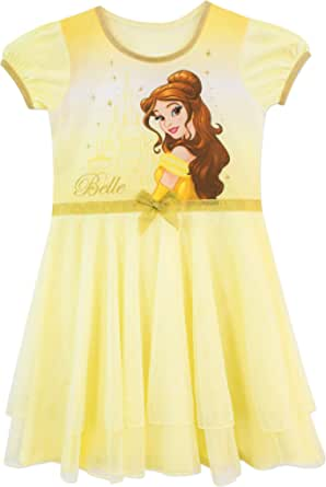Disney Girls Beauty and The Beast Nightdress