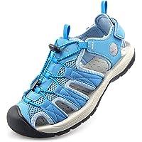 Knixmax Men Women Walking Sandals Closed Toe Summer Shoes Outdoor Hiking Sports Sandals