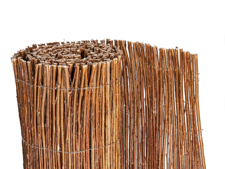 BOOGARDI Weidenmatte Sichtschutzmatte in 18 Größen 150 x 500