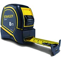 STANLEY STHT43068-12 Tylon 8 Meters Measurement Tape in Rugged Rubber Case
