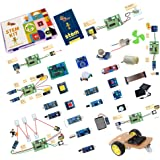 Quad Store(TM) - STEM based DIY learning activity educational electronics kit for science, robotics, school, college…