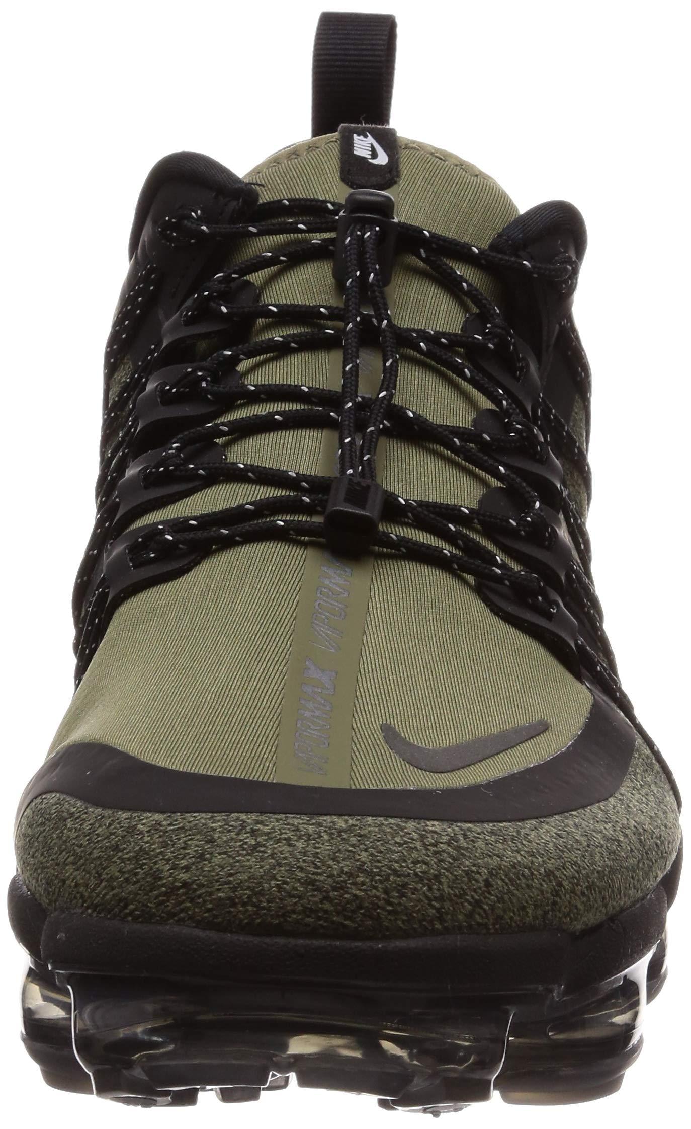 81PCU%2BHdpvL - Nike Men's Air Vapormax Run Utility, Medium Olive/Reflect Silver