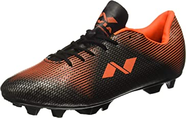 Nivia Men's PVC Synthetic Leather Premier Carbonite Football Stud Shoes