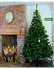 TIED RIBBONS Christmas Tree 6 Feet Christmas Decoration for Office House Restaurants