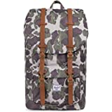 Herschel Supply Co. Little America, Frog Camo/Tan Synthetic Leather