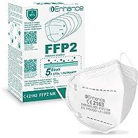 enhance Mascherine FFP2 20 PZ con marchio CE protettive, Maschera di protezione antiparticolato FFP2 20 pz mascherine…