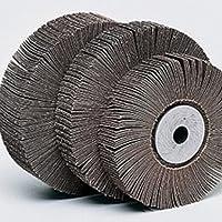 5x Fächerschleifscheibe 115 mm K80 Schleifmob Lamellenscheibe für Holz Metall