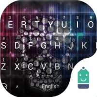 Diamond Skull  Theme&Emoji Keyboard