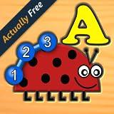 Bambini insetto lettera numero logica e giochi di labirinto - divertente l`apprendimento per bambini in età prescolare