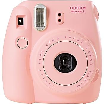 Fujifilm Instax Mini 8 Fotocamera Istantanea per Foto Formato 62 x 46 mm, Rosa