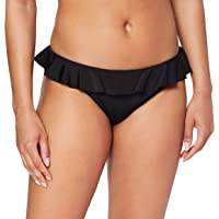 Marchio Amazon - Iris & Lilly Slip Bikini a Vita Bassa con Volant Donna