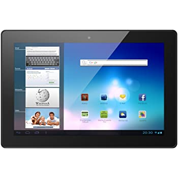 Odys Aeon 33,8 cm (13,3 Zoll) Tablet-PC (TFT Touch Panel, 1,6GHz Dual Core Prozessor, 1GB RAM, 16GB HDD, HDMI, WLAN, Android 4.1.) schwarz