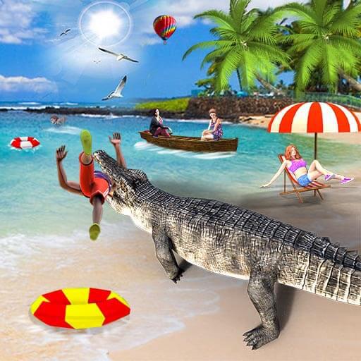 Crocodile Attack Simulator 2018 - Animal Hunting
