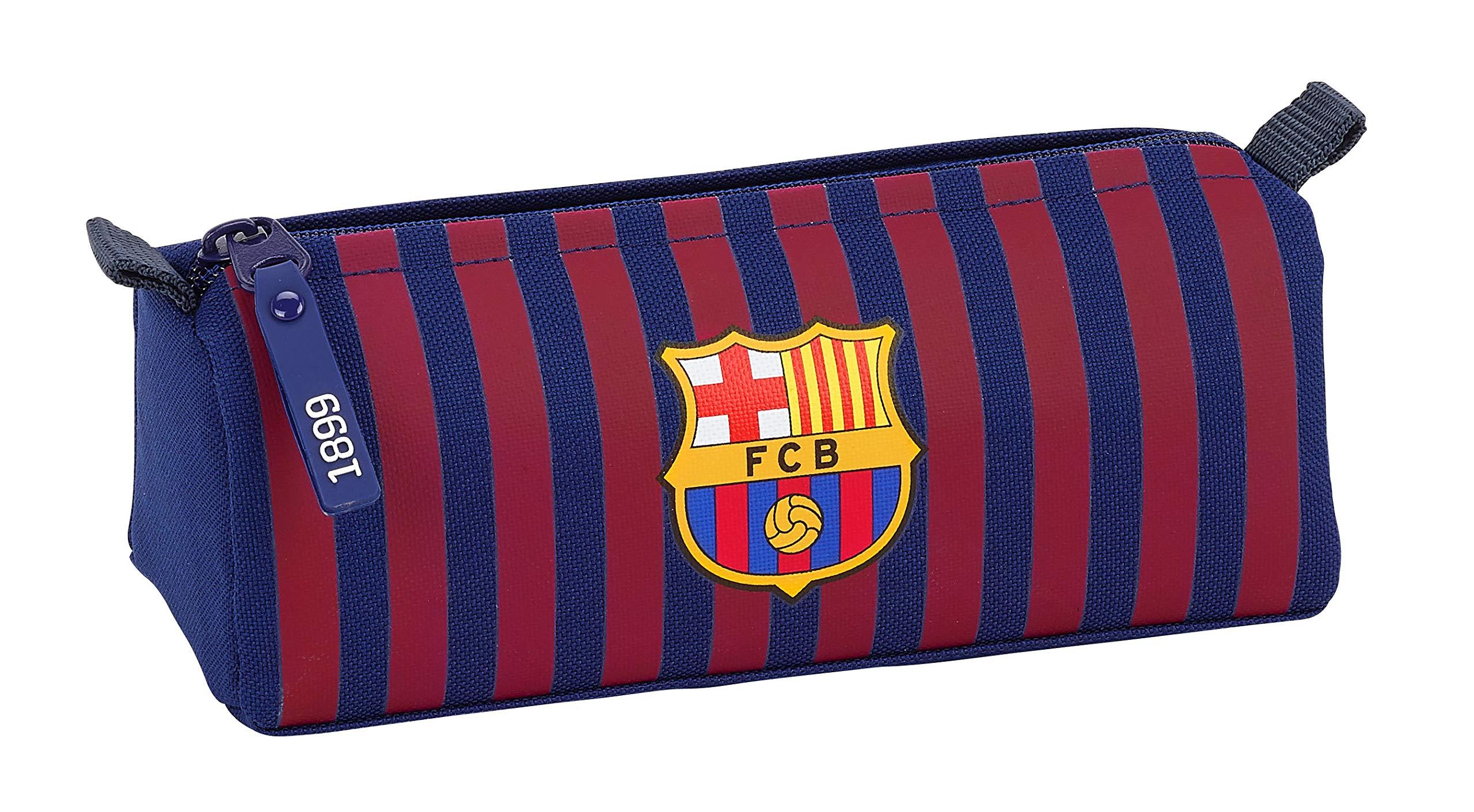 FC Barcelona 811829742 2018 Estuches, 21 cm, Azul