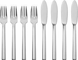 Solex 200402668 Maya 4-Piece Fish Knife, Set of 8