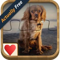 Jigsaw Solitaire - Dogs