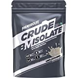 Bigmuscles Nutrition Crude Isolate 1kg, Whey Protein Isolate with Whey Peptides, 26g Protein, 0g Sugar, 1g Added Leucine…