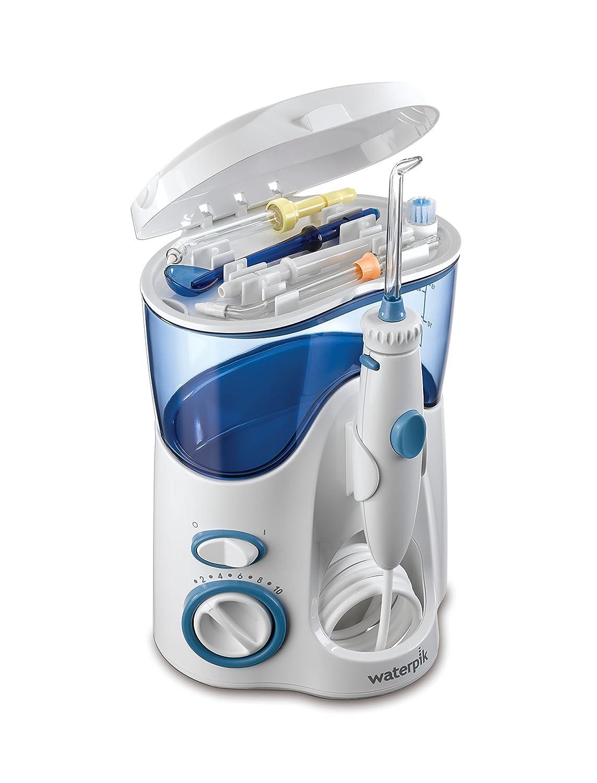 Waterpik bietet nicht nur einzelne Mundduschen, sondern ganze Sets zur Zahnreinigung.