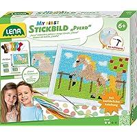 Playbox PBX2471049 2471049 Bastelset Stickerei Mehrfarbig