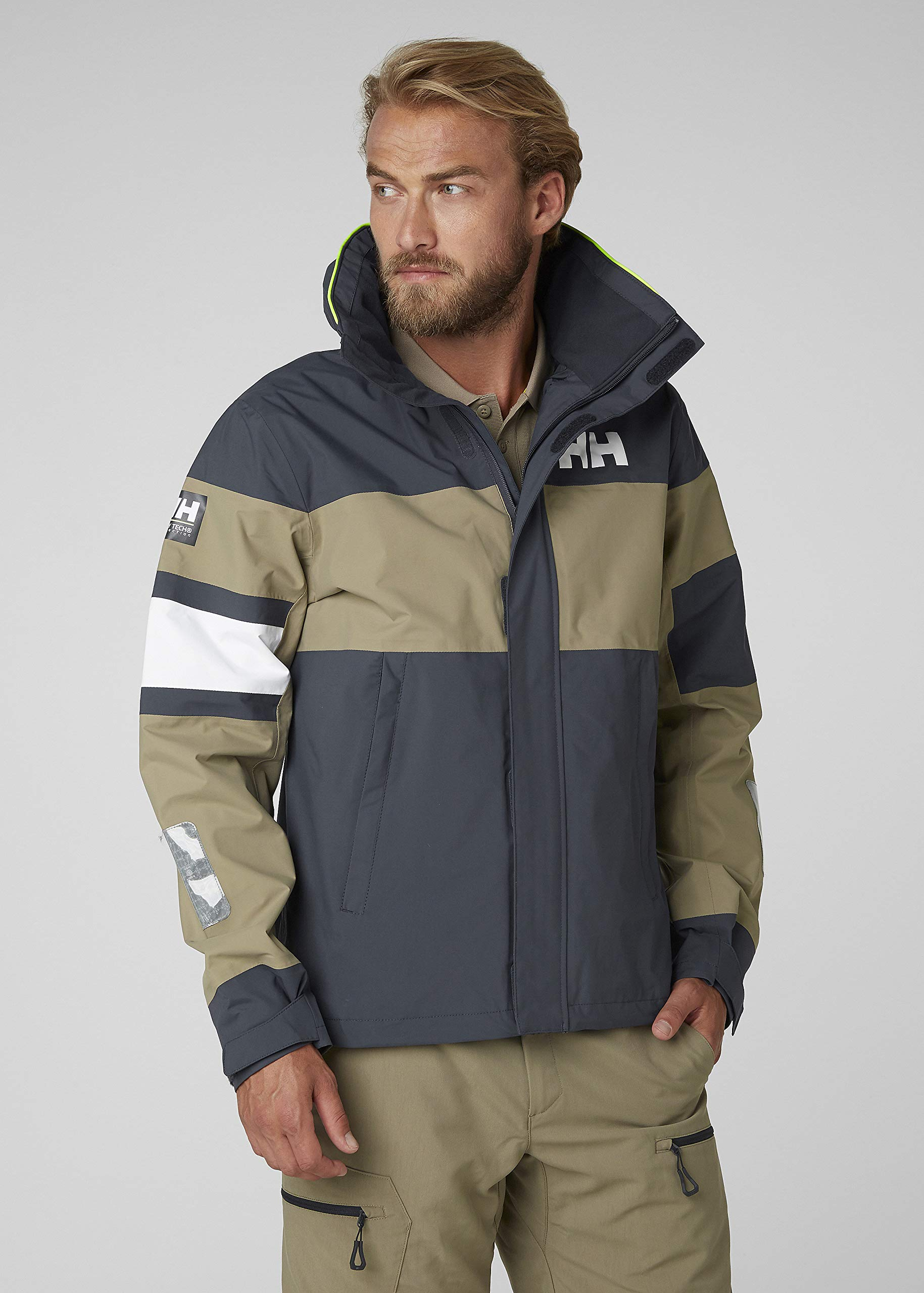 81PJx7Ko7VL - Helly Hansen Waterproof Salt Light Sailing Jacket