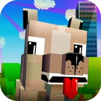Virtual Blocky Dog - Care for a Blocky Pet!