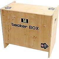 Becker-Sport Germany Becker Box M Novità, scatola 5 in 1 (BSG 28963) con 5 altezze di salto.