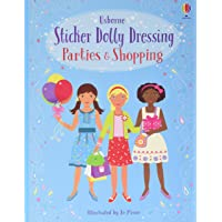 Sticker Dolly Dressing Parties & Shopping