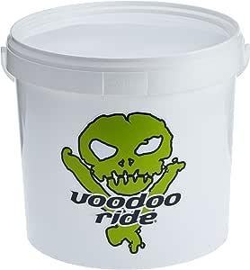 Voodoo Ride Emmer Wit Eimer 15l Weiß Deckel Grid Logo Green Auto