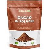 Biologisch Cacaopoeder 1 Kg. 100% Bio, Natuurlijk en Zuiver. Geproduceerd in Peru van de Boom Theobroma Cacao. Bron van Magne