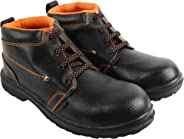 Aktion Safety Synthetic Leather Shoes RA-99 - Size 10, Black