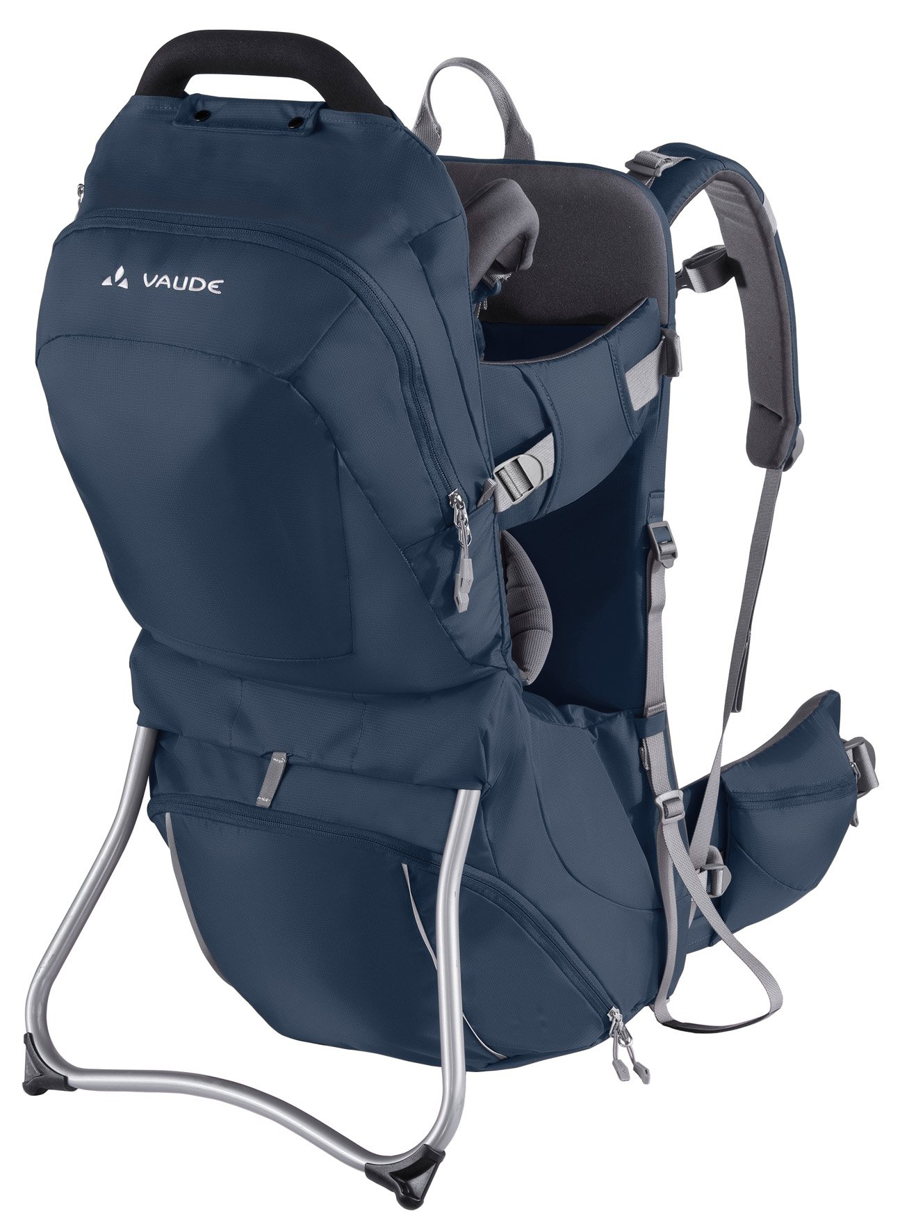 Vaude Shuttle Comfort Carrier Vaude Individually adjustable supportive back Adjustable seat height, torso support Separate bottom compartment, stowage compartment with zip 3