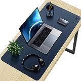 SYOSIN Tappetino Scrivania, Sottomano da Ufficio, Tappetino da Tavolo, 80cm x 40 cm antiscivolo tappetino mouse da scrivania