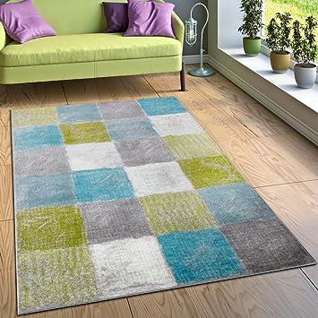 amazon.de: designer teppich wohnzimmer ausgefallene ... - Teppich Wohnzimmer Grun