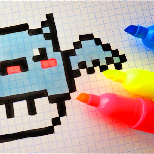 Draw Color By Number Sandbox Pixel Art Amazonfr