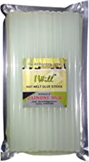 I-Will All Purpose Transparent Glue Sticks (Blue Bird, 11 mm) for Hot Melt Glue Gun - 20 Pieces