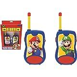 LEXIBOOK TW12NI Nintendo Super Mario Walkie-Talkies, Kommunikationsspel för Barn, Flerfärgad, En Storlek