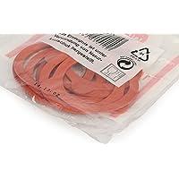 Weck - Lot de 10 Joints de 80 mm, Plastique, Rouge foncé
