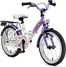 BIKESTAR Premium Sicherheits Kinderfahrrad 16 Zoll für Mädchen ab 4-5 Jahre ★ 16er Kinderrad Classic ★ Fahrrad für Kinder