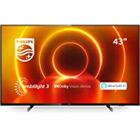 Philips Ambilight 43PUS7805/12 Fernseher 108 cm (43 Zoll) LED TV (4K UHD, P5 Engine, Dolby Vision, Dolby Atmos, HDR 10…