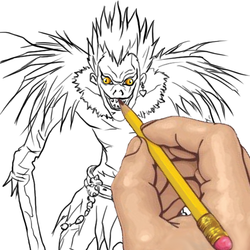 How To Draw Death Note Anime Characters Amazon Co Uk Appstore For Android