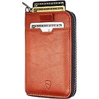 Vaultskin NOTTING HILL - Portafoglio sottile con chiusura a cerniera, con protezione RFID, per carte di credito…