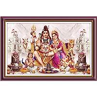 Rangoli Wood Religious Painting, Multicolour, Abstract, Standard