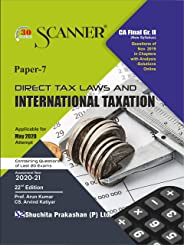 Scanner CA Final Group - II Paper - 7 Direct Tax Laws and International Taxation (Kindle Edition): Direct Tax Laws and Intern