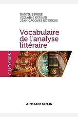 Vocabulaire de l'analyse littéraire - 3e éd. Broché
