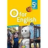 E for English 5e (éd. 2017) - Livre (E for English 2016 - 2017)