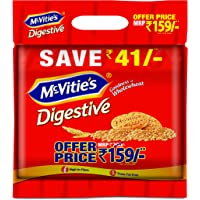 Mcvities Digestive Biscuits, 1kg (Pack of 2)