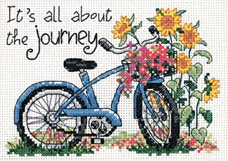 Dimensions Needlecrafts Counted Cross Stitch, The Journey