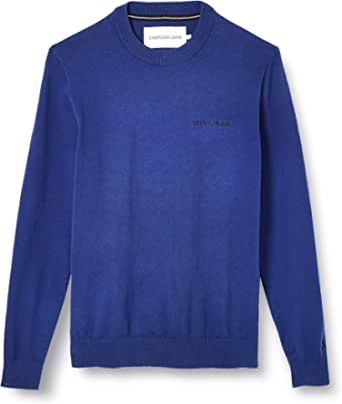 Calvin Klein Jeans Men's Instit Chest Logo Cn Sweater Sweatshirt